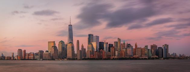 View to Lower Manhattan from Liberty State Park in New Jersey, USA © elena_suvorova