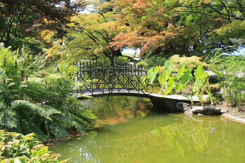 Magnifique jardin botanique à Bellagio,