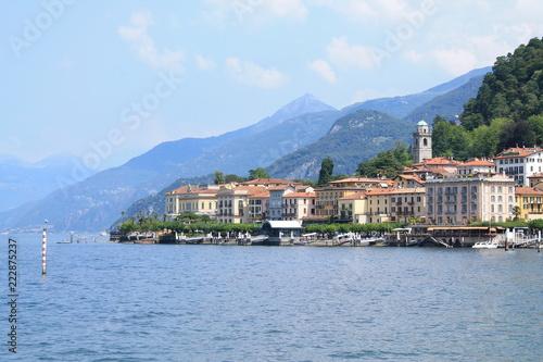 Bellagio, le luxueux village sur les rives du lac de Come, Italie