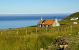 Landscape at Melvaig in Scotland