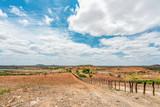 Boqueirão, Paraíba, Brazil - February, 2018: Dry land with a Caatinga Biome - 222896033