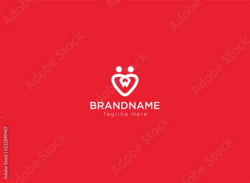 Minimalist Love logo white - 222899407