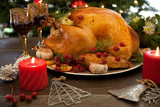 Rustic Style Christmas Turkey - 222899897