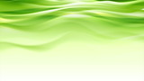 Green abstract smooth waves modern background - 222913259