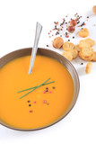 soupe isolé sur fond blanc - 222917006