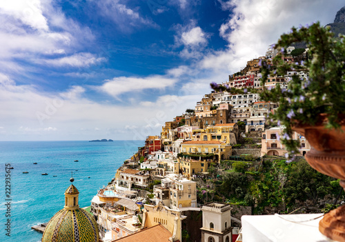 Beautiful Villas of Positano in the Amalfi Coast