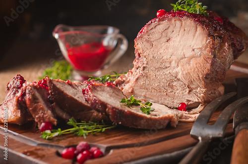 Baked pork meat - 222940042