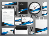 complete set of business stationery collateral - 222949819