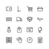 Online supermarket flat icon - 222951057