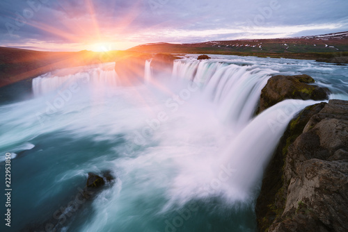 Godafoss - one of the Iceland waterfalls - 222953850