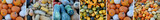 Kürbis Collage