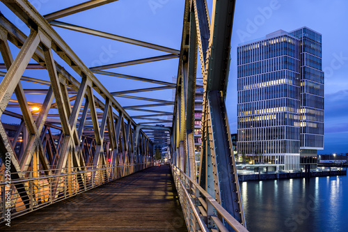 Magdeburger Brücke HafenCity Hamburg Elbtorkai
