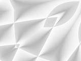 White and light grey futuristic pattern. Monochromatic design for backgrounds, templates, backdrops, surface, textile and fabric designs. 3d render illustration - 222964469