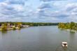 Leinwanddruck Bild - Berlin Spree-River near Treptow
