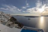 Santori Fiera Blick aufs Meer bei Sonnenuntergang - 222966660