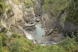 Reichenbacher Wasserfälle bei Meiringen BE, Berneroberland, Schweiz - 222970690