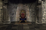 Throne in castle - 222981602
