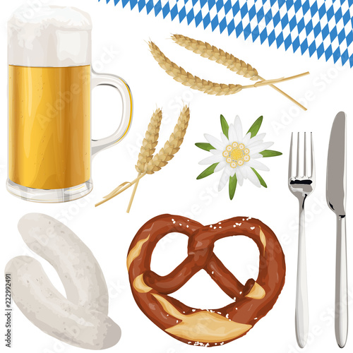 collection Oktoberfest objects - 222992491