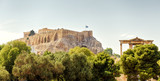 Panoramic view of the Acropolis hill, Athens, Greece - 223006602