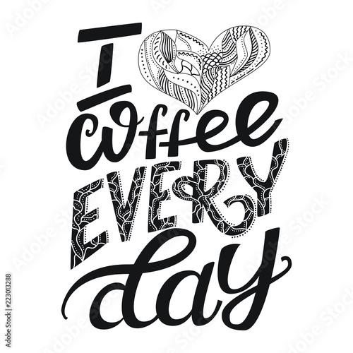 uwielbiam-kawe-kazdego-dnia-recznie-rysowane-plakat-typografii-cytat-w-stylu-kaligrafii-na-plakat-ulotki-logo-lub-blogu-ilustracja-stylu-boho-do-promocji-sklepu-pojedynczo-na-bialym-tle