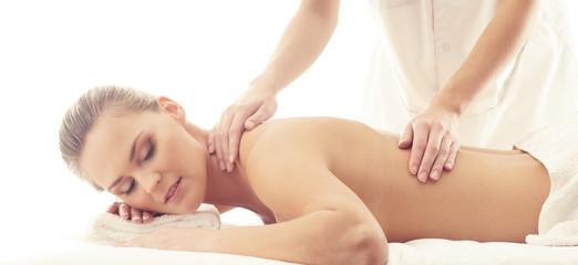 Healthy and Beautiful Woman in Spa. Recreation, Energy, Health, Massage and Healing. © Maksim Šmeljov