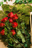 Bunch of Roses at the flower shop - 223017219