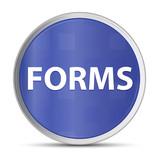 Forms blue round button - 223018233