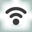 Icon wi-fi, internet, vector