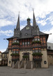 canvas print picture - Rathaus Wernigerode