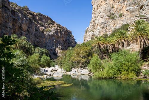 Foto Murales Prevelischlucht auf Kreta