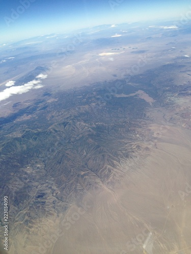 aerial view of mountains - 223034090