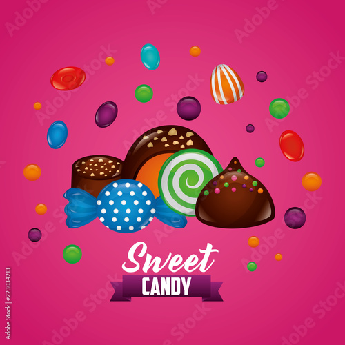 sweet candy concept - 223034213