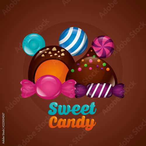 sweet candy concept - 223034267