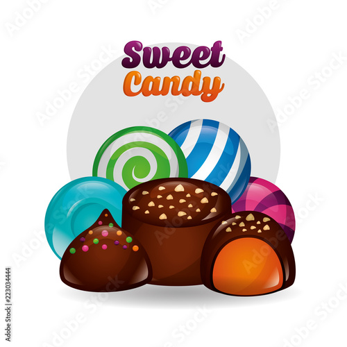 sweet candy concept - 223034444