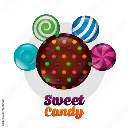 sweet candy concept - 223034668