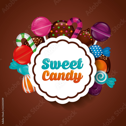 sweet candy concept - 223035019