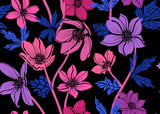 floral seamless pattern - 223053224