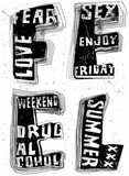 Hand draw Vintage Typography Slogan Man T shirt Graphic Vector Design - 223059618
