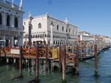Venezia - panorama sul Canal Grande da piazza San Marco