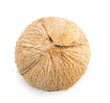 half coconut top view isolated on white - 223084413