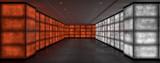 Grungy light walls 3d rendering - 223088443