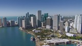 4K Downtown Miami Aerial  - 223100071