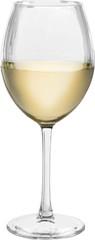 Elegant white wine glass  Isolated © BillionPhotos.com