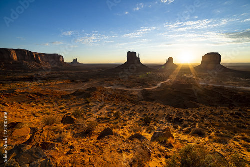 Monument Valley sunrise - 223107616