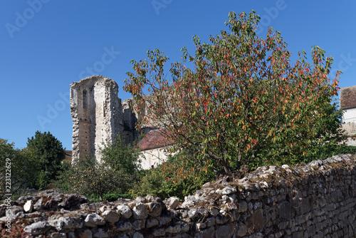 Grez sur Loing medieval village in the French Gâtinais regional nature park