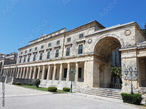 Foto Murales Palace of St. Michael and St. George, Corfu, Greece