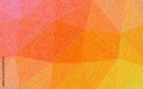 Oszałamiająco abstrakcjonistyczna ilustracja menchii, pomarańcze, koloru żółtego i purpur Realistyczna Impastowa farba. Ładne tło dla twoich odbitek.