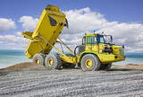 Large earth moving truck - 223150809