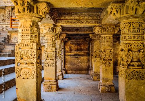 Rani ki vav,stepwell in Gujarat,India - 223173224