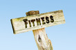 Schild 329 - Fitness